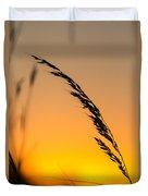 Sunset Grass Duvet Cover