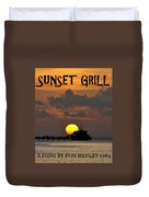 Sunset Grill Don Henley 1984 Duvet Cover
