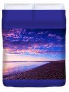 Sunset In Cape Cod Boston Massachusetts  Duvet Cover