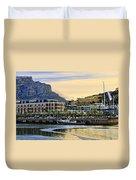 Sunset In Cape Town Duvet Cover