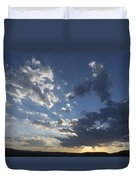 Sunset In New Mexico Duvet Cover