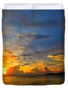 Sunset In Paradise - Beach Photography By Sharon Cummings Duvet Cover by Sharon Cummings