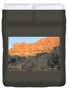 Sunset In The Desert Canyon 2 Duvet Cover