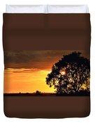 Sunset In The Valley Duvet Cover