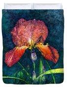 Sunset Iris Duvet Cover