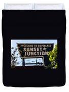 Sunset Junction Duvet Cover