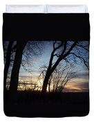 Idaho Sunset 1 Duvet Cover
