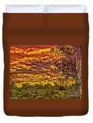 Sunset Navajo Tribal Park Canyon De Chelly Duvet Cover