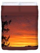 Sunset Of Life  Duvet Cover