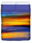 Sunset Of Light Duvet Cover