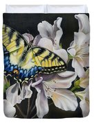 Sunset On A Swallowtail Duvet Cover