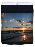 Sunset On Alys Beach Duvet Cover