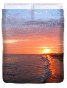 Sunset On Balboa Duvet Cover