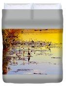 Sunset On Parry's Lagoon Duvet Cover