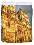 Sunset On The Abbey  Duvet Cover