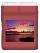 Big Island Sunset - Hawaii Duvet Cover