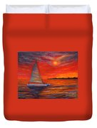 Sunset Passion Duvet Cover