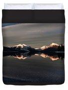 Sunset Peaks Duvet Cover