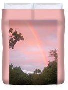 Sunset Rainbow Duvet Cover