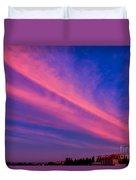 Sunset Rays Duvet Cover