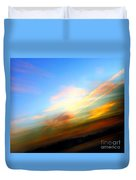 Sunset Reflections - Abstract Duvet Cover