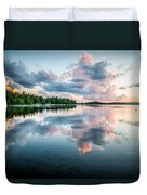 Sunset Relections Duvet Cover