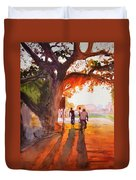 Sunset Riders Duvet Cover