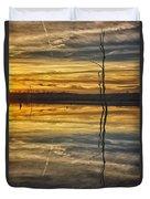 Sunset Riverlands West Alton Mo Dsc03317 Duvet Cover