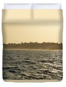 Sunset Sailing In Cabo Duvet Cover