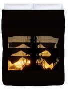 Sunset Sails Duvet Cover