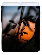 Sunset Silhouette 2 Duvet Cover