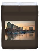 Buenos Aires Sunset Duvet Cover