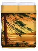 Sunset Splendor Duvet Cover