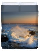 Sunset Spray Duvet Cover