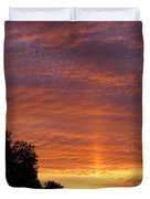 Sunset Sunburst Duvet Cover
