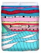 Sunset Surf Duvet Cover