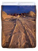 Sunset Valley Of Fire State Park Nevada Duvet Cover