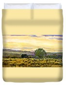 Sunset Verde Valley Thousand Trails Duvet Cover