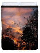Sunset View From The Path Duvet Cover