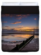 Sunset Wales Duvet Cover by Adrian Evans