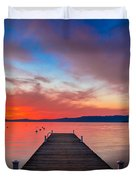 Sunset Walkway Duvet Cover