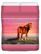 Sunset Wild Duvet Cover