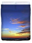 Sunset X Duvet Cover