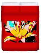Sunshine And Flowers Duvet Cover