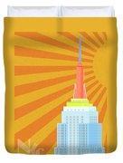 Sunshine City Duvet Cover