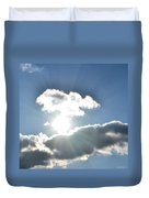 Sunshine Clouds Duvet Cover