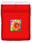 Sunshine Flower Duvet Cover