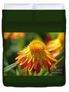 Sunshine Flowers Duvet Cover