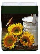 Sunshine From The Garden Duvet Cover