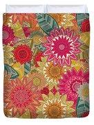 Sunshine Garden Duvet Cover
